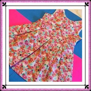 🌸Janie and jack gorgeous flower dress size5 NWT🌸